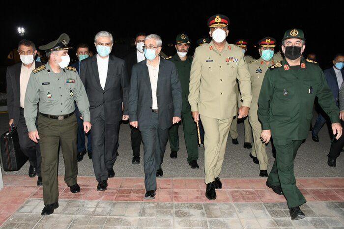 گزارش تصویری ورود هیات نظامی ایران به ریاست سردار باقری به پاکستان