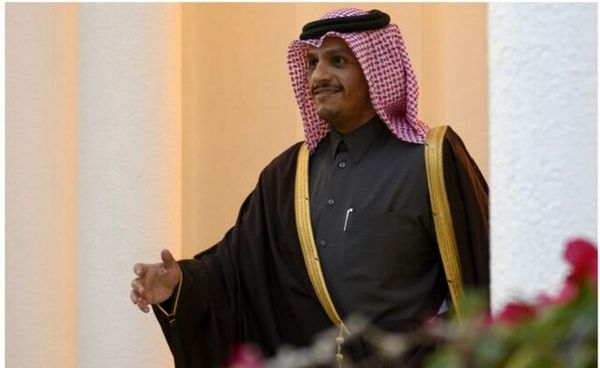وزیر امور خارجه قطر وارد بغداد شد
