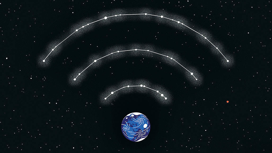به اینترنت ماهوارهای نزدیک میشویم