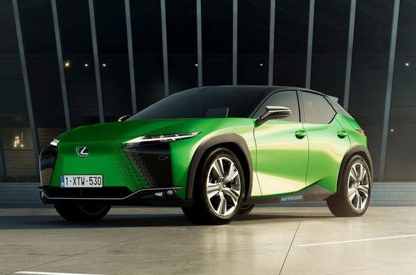 رونمایی از جدیدترین خودرو الکتریکی لکسوس + عکس