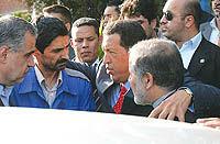 هوگو چاوز سنگ بنای تولید سمند در ونزوئلا را محکم کرد