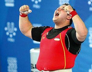 روسلان آلبگوف بهترین وزنهبردار سال شد