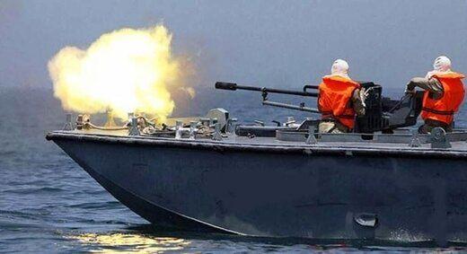 حمله قایق های جنگی اسرائیل به غزه