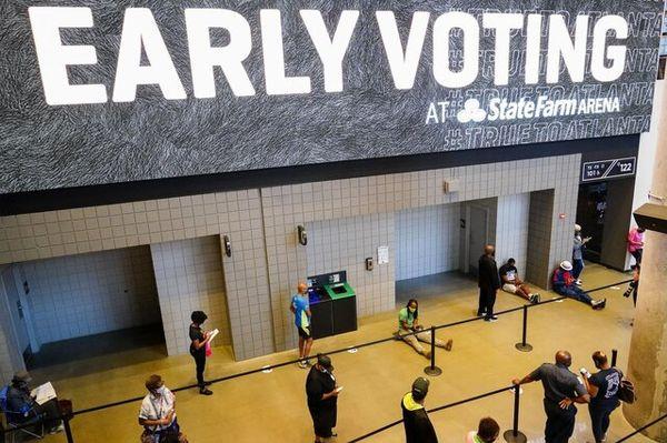 رکورد شرکت در انتخابات پیش از موعد آمریکا شکسته شد