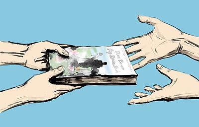 کفه سنگین رمان خارجی در بازار کتاب