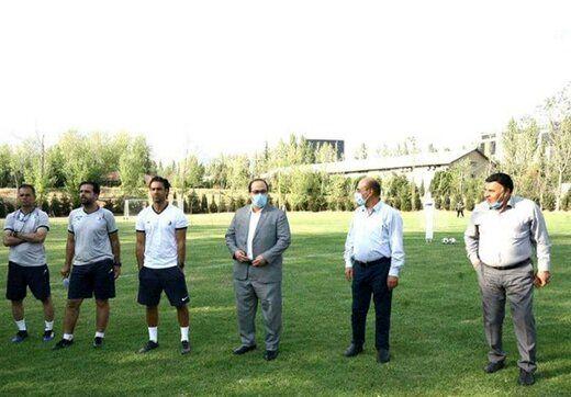غیبت عجیب سرپرست تیم استقلال در تمرینات