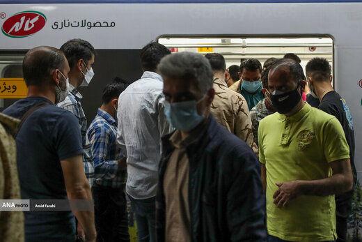 علت شلوغی امروز ایستگاه مترو صادقیه