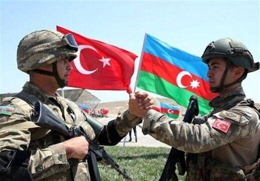 رزمایش آذربایجان و ترکیه در نزدیکی مرزهای ایران