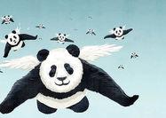 پانداها میتوانند پرواز کنند؟