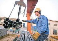 افت معاملات سنگآهن  در جهان