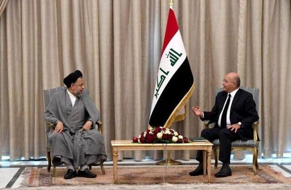 جزئیات دیدار محمود علوی با رئیس جمهور عراق