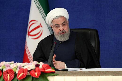 روحانی: از مردم طلب عفو میکنم + فیلم