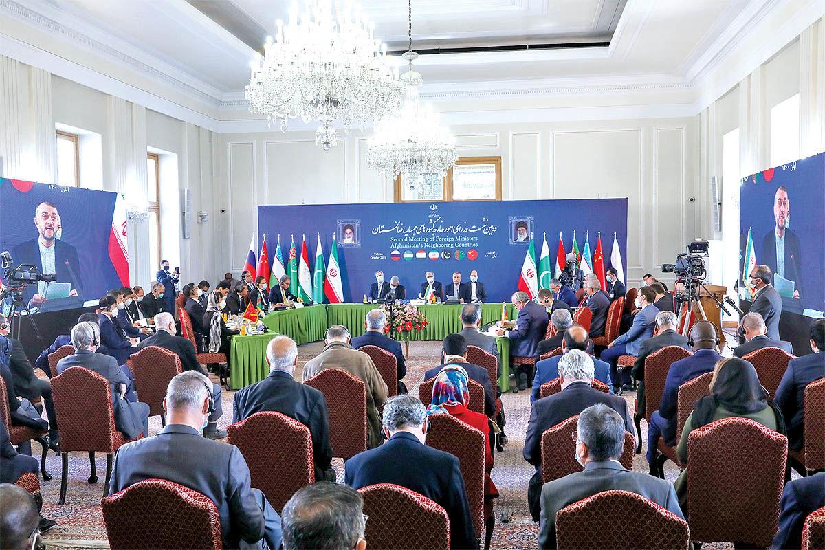 چارهجویی بحران افغانستان در نشست تهران