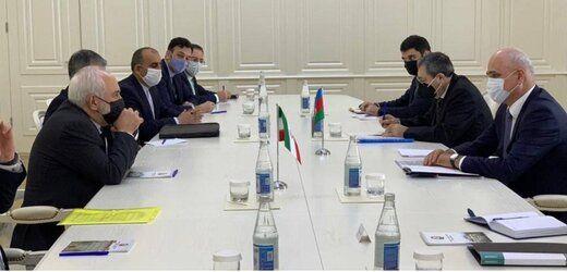 در دیدار ظریف با معاون نخستوزیر جمهوری آذربایجان چه گذشت؟