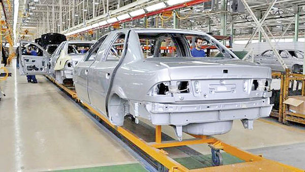 رشد اردیبهشتی تولید خودرو