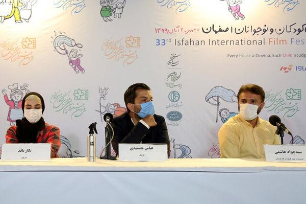 سیدجواد هاشمی به نشانه اعتراض ماسکش را برداشت