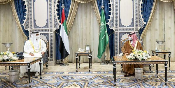 دیدار ولیعهد امارات و بن سلمان در جده