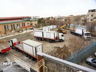 برپایی بیمارستان صحرایی سپاه در قم