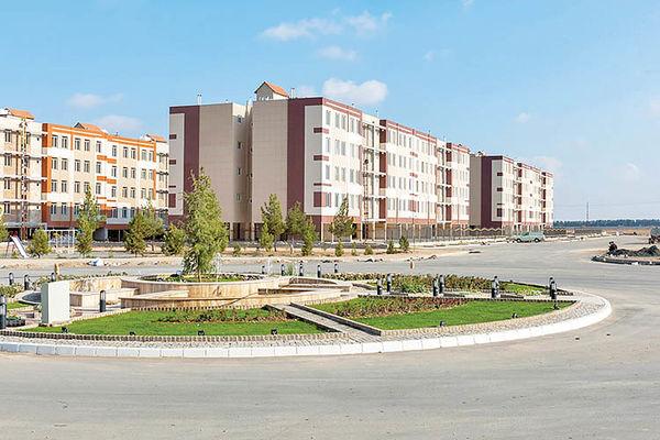 کلنگزنی 2400واحد مسکونی   در شهر جدید گلبهار