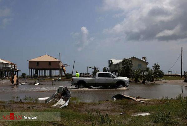 خسارت طوفان آیدا به لوئیزیانا+عکس