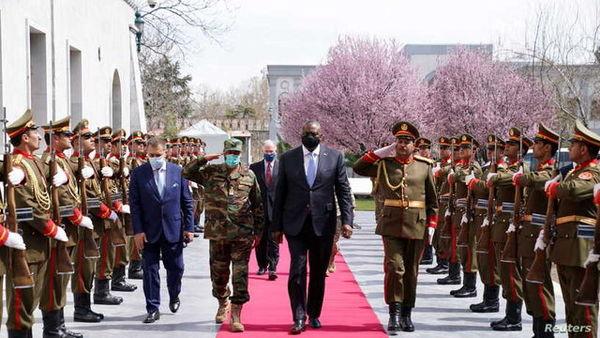 جزئیات سفر رئیس پنتاگون به کابل/ تاکید بر تصمیم خروج نیروهای آمریکایی توسط بایدن