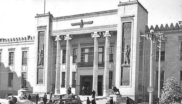 سنگ بنای بانک ملی