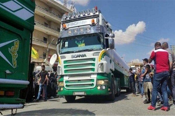 ورود هفتمین کاروان سوخت صادراتی ایران به لبنان