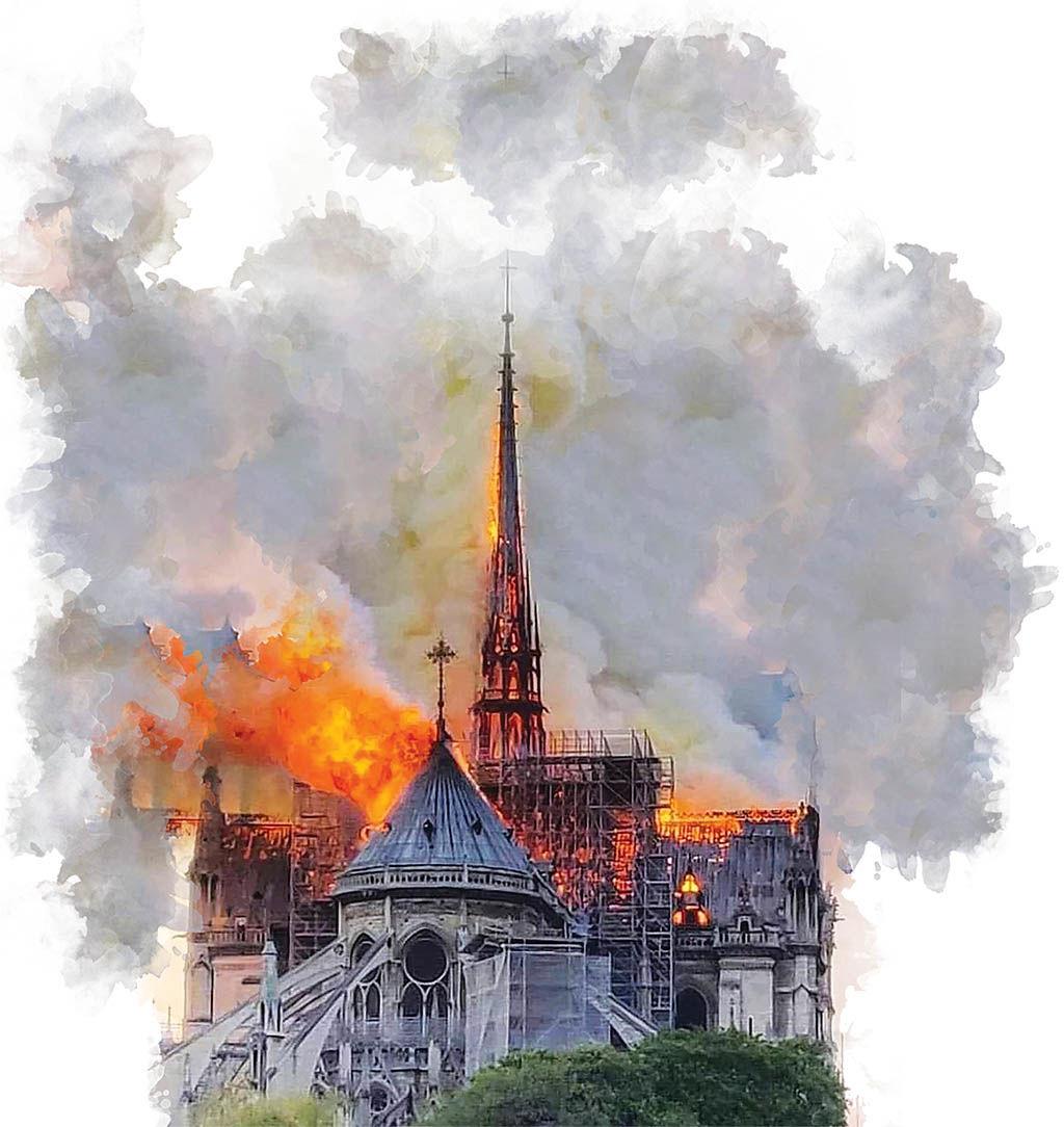 هویت فرانسه در آتش