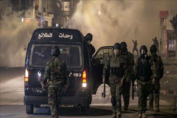 درگیری میان تظاهرات کنندگان و نیروهای امنیتی تونس
