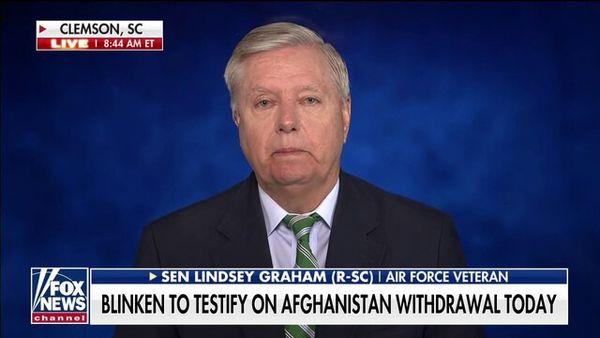 """لیندسی گراهام: طالبان """"سازمان تروریستی خارجی"""" اعلام شود"""