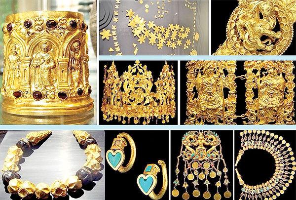 گنجینه طلایی در اختیار طالبان