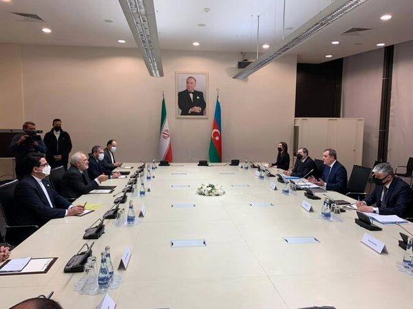 آنچه در دیدار ظریف و وزیرخارجه آذربایجان گذشت