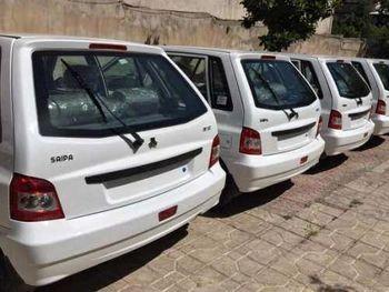 تخلیه پارکینگ خودروهای ناقص سایپا
