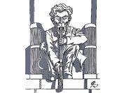 تازهترین واکنشهای سیاسی جیمکری با نقاشی