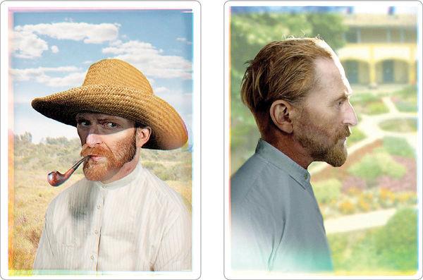 خلق نخستین تصویر  از چهره احتمالی ونگوگ