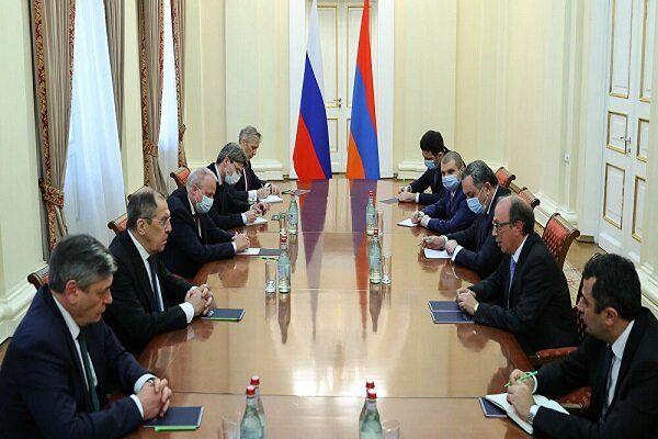 دیدار وزیران خارجه روسیه و ارمنستان درباره قره باغ