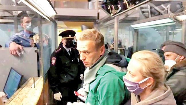 کابوس الکسی در کاخ پوتین