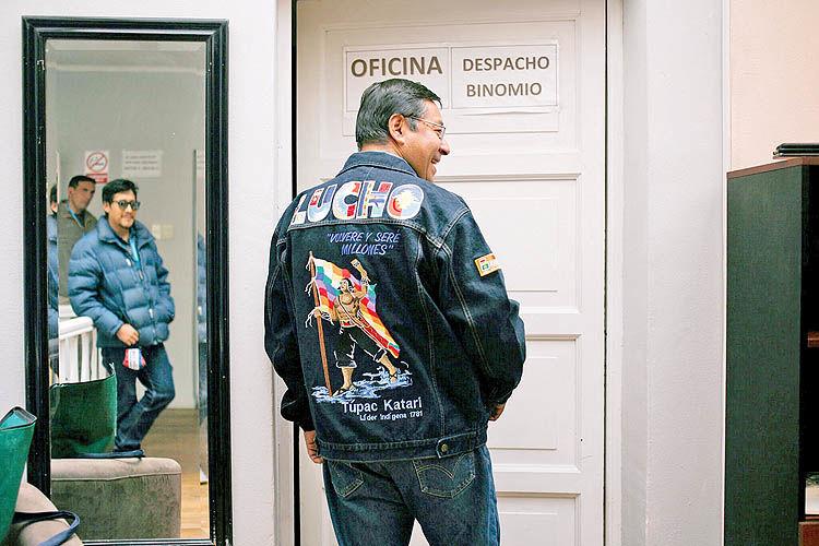 گردش به چپ بولیوی
