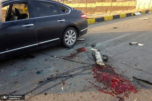 شهید فخریزاده در لحظه تیراندازی تروریستها به همسرش چه گفت ؟+فیلم