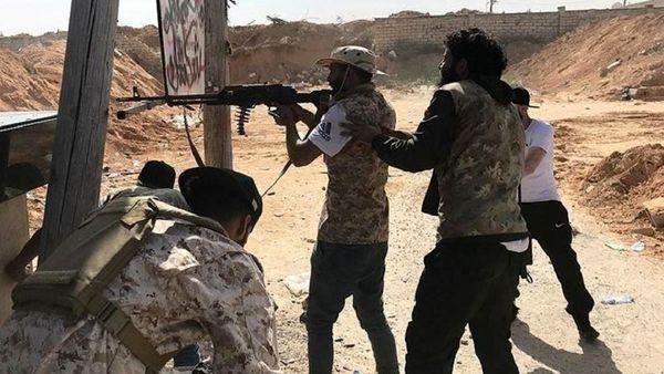 نقض آتشبس در لیبی از سوی ترکیه