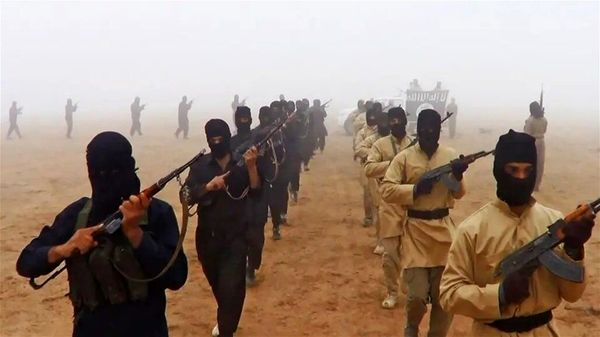 حمله وحشیانه داعش به مقر پلیس فدرال عراق