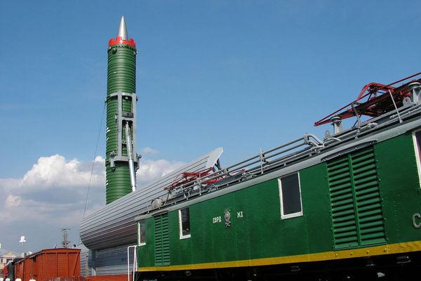 قطار هستهای روسیه پاسخی به استقرار موشکهای آمریکا در اروپا