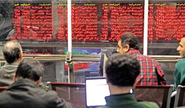 شوک جنگ تجاری به بورس تهران