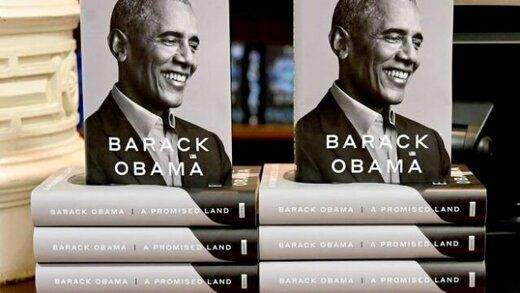 استقبال بی نظیر از کتاب اوباما در یک روز