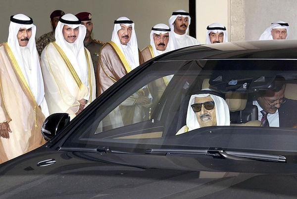 درگذشت امیر کویت