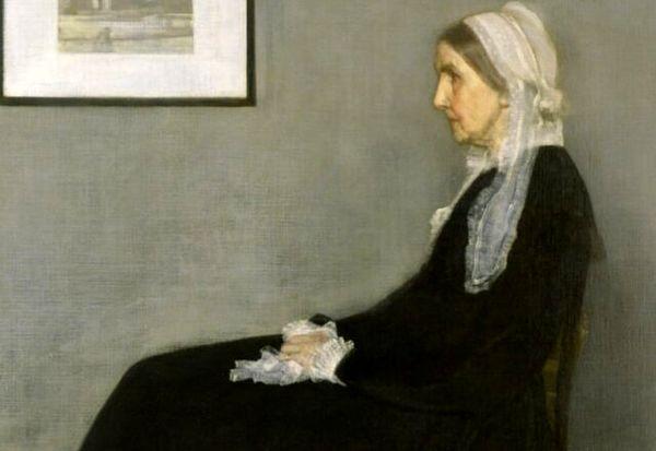 راز نقاشی زن سیاهپوش چیست؟
