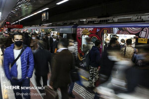 مسافرگیری در ایستگاه مترو شوش از سر گرفته شد