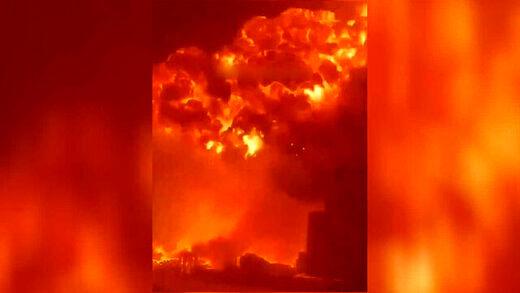 گردانهای قسام از اسرائیل انتقام گرفت/حمله به شهرک صنعتی و آتشسوزی گسترده/تلآویو:پاسخ سختی میدهیم