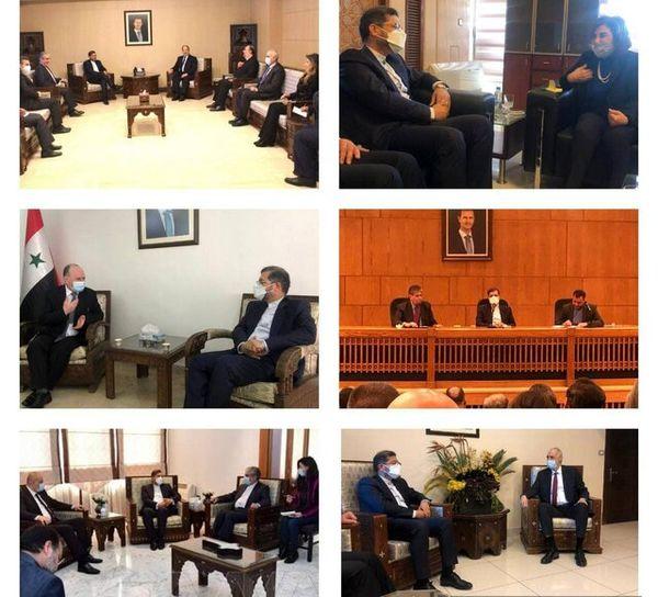 در سفر سخنگوی وزارت خارجه به سوریه چه گذشت؟