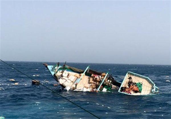 لنج تجاری تنگستانیها در خلیج فارس غرق شد